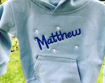 Personalised Toddler Hoody - Embroidered