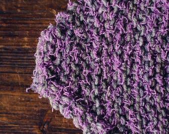Grey & Purple ScrubbyBubby