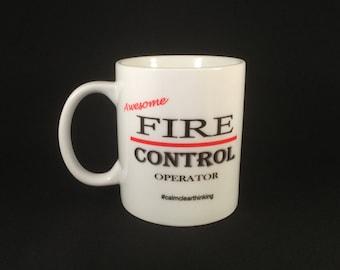 Fire Control Operator Mug