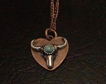 Bullhead necklace