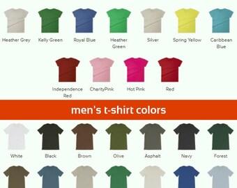 T-Shirt Color Guide