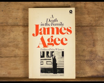 James Agee, A death in the family Quartet Editor, paperback, English, pulitzer Prize for fiction