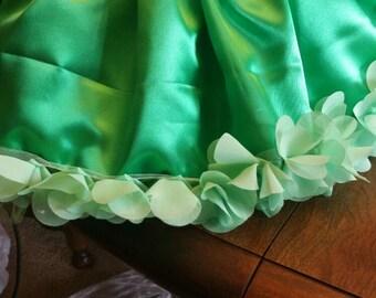 St Patrick's Day skirt