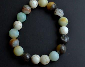 Chunky Bracelet - Amazonite