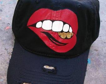 Lipstick & Grillz