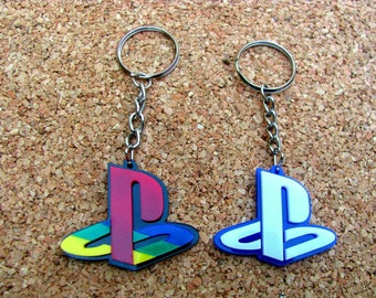 Play Station Keychain / PSP / PS4 / PS3 / Keychain / Unique Gift / Colorfull / Beautiful