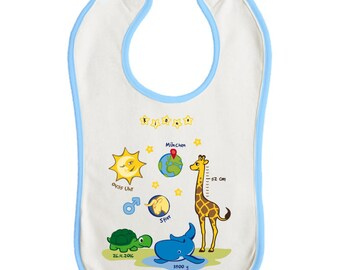 Baby bib (personalized) Premium boy
