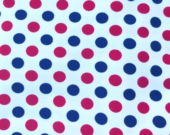 Red white blue dots/stripes