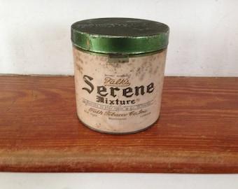 Early 1900s Serene Tobacco Tin