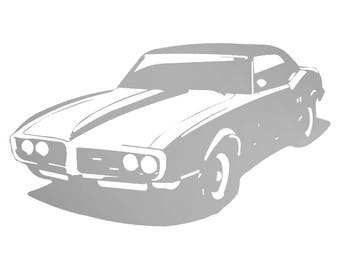 Metal, Art, Home Decor, Automobiles, Pontiac, Firebird
