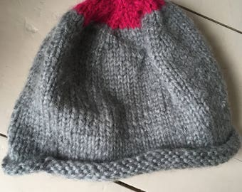 Hand knitted hat, personalizable!