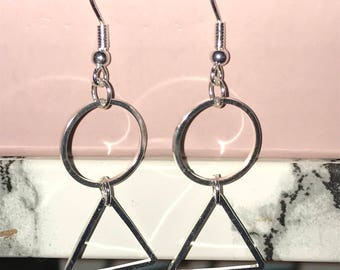 Earring is handmade by myself