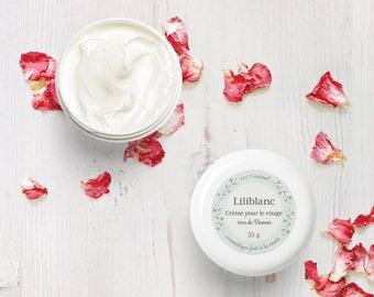 Cream face - jojoba oil and organic damask rose
