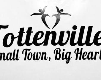 Tottenville small town, big heart  (Black or White)