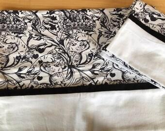 Flannel Lion Cub Pillow Case