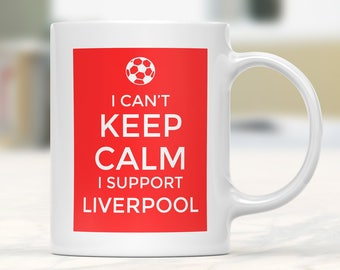 Liverpool Supporter Mug, Football Gift Mug, Football Supporter Mug, Funny Football Mug, Football Fan Present, Football Team Lover