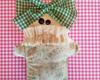 "Grungy ""Harriet"" - A Rag Doll made with love"