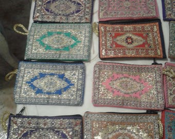 Arabic purse PACK of 2/Moroccan 11 by 7 cm