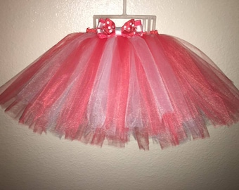 Custom Baby Tutu and Headband set (3-6 months)
