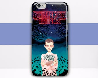 Stranger Things iPhone 8 case transparent iPhone X case Clear iPhone 8 plus case Stranger Things iPhone 7 Plus Case iPhone 6 StrangerThings