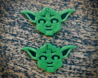 Xray Markers Yoda Pair (L&R)