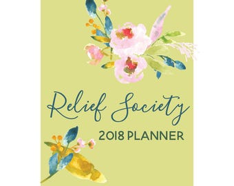 2018 Relief Society Planner