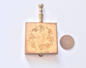 Vintage Pocket Ashtray