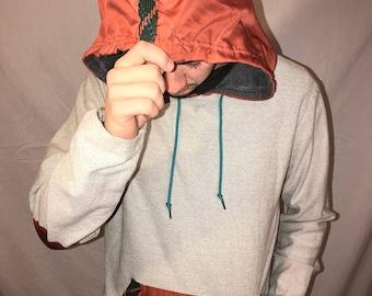 Koto Hoodie w/ Orange Accents