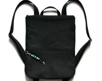 Minimalist Backpack / Backpacks For Women / Backpack For Women / Women Backpack / Womens Backpacks / Black Backpack / Small Backpack / Vegan