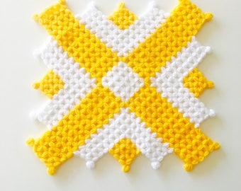 Soft Hand Knit Wash Cloth