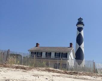 Shackleford Island Lighthouse NC