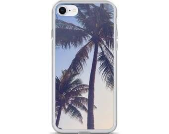 Sun Palm Beach iPhone Case - iPhone 7 Case iPhone 6 Case, iPhone 6s Case, iPhone 8 Case, iPhone X Case