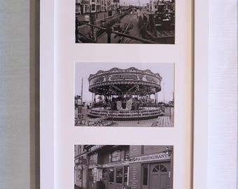 Weymouth Black and White Framed Prints