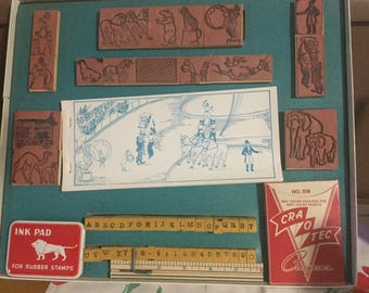 Ringling Brothers and Barnum and Bailey's Print Set.