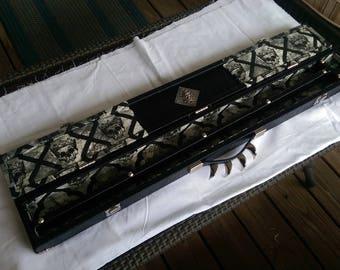 Custom Pool Cue Case 1x1 - Skull