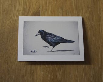 Rook Greeting Card
