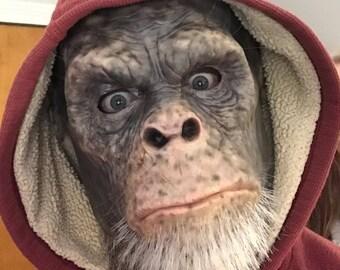Latex Ape Mask