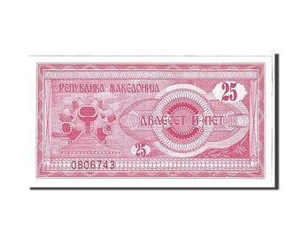macedonia 25 (denar) 1992 km #2a unc(65-70) 0806743