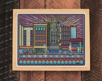 Alabama Theatre Print
