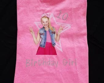 JoJo Siwa Birthday Girl Shirt