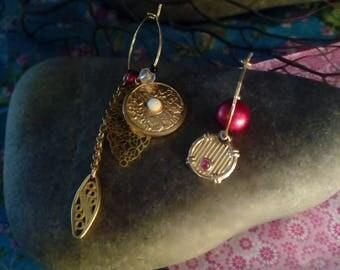 "Earrings ""Red Christmas"""
