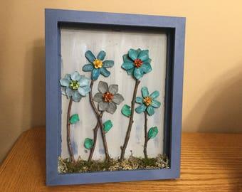 Pinecone Flowers