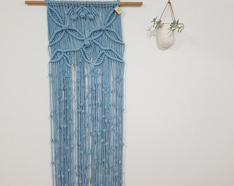 MAGNOLIA Macrame Wall Hanging with Wall Hook Cover