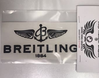 Breitling Vinyl Transfer Decal Sticker Swing Wing Graphics RC Airplanes Cars
