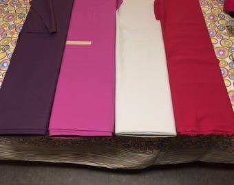 Fabric ruffles