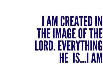 Image of the Lord, Printable Design, Wall Art