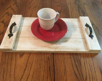 "Rustic Serving Tray 20"" X 10.5"""