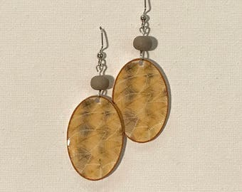 Maize Leaf Earrings