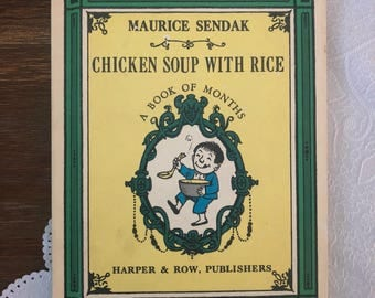 Chicken Soup with Rice: a book of months