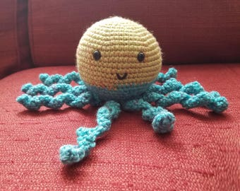Amigurumi Octopus - crochet stuffie